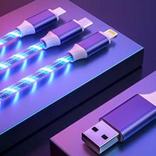 Led Işıklı Şarj ve Data Kablo K80