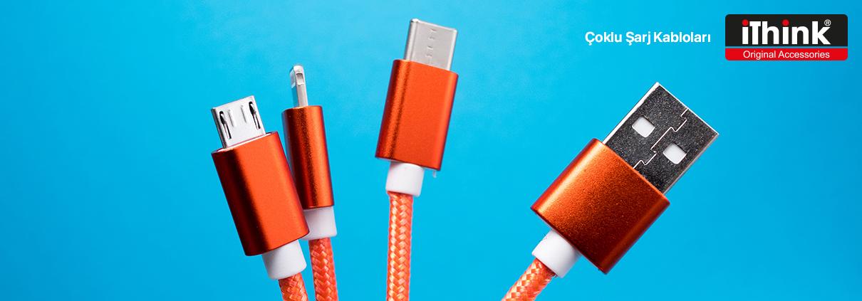 iThink Çoklu Şarj Kabloları